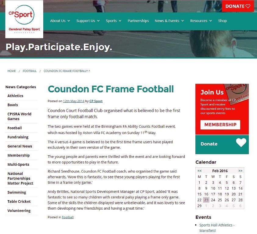Frame Football Proof!